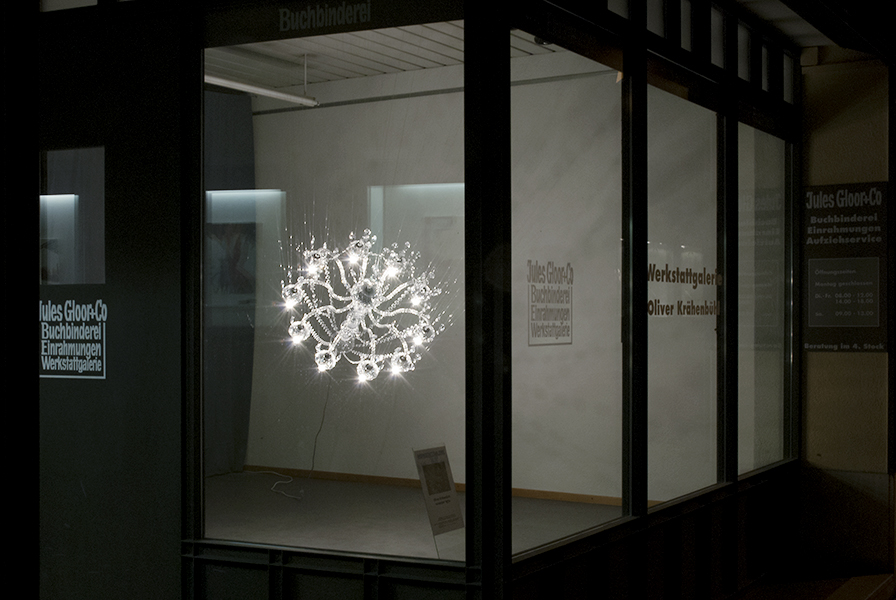 Oliver Krähenbühl, exhibition view: november lights, Solo show, Werkstatgallerie, Aarau 2014